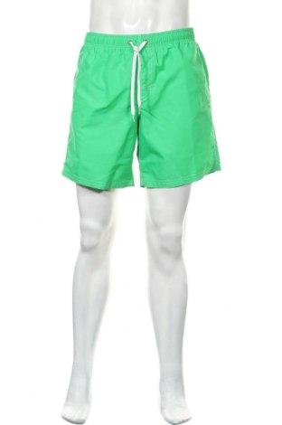 Ανδρικό κοντό παντελόνι Sundek, Μέγεθος L, Χρώμα Πράσινο, Πολυαμίδη, Τιμή 26,68€