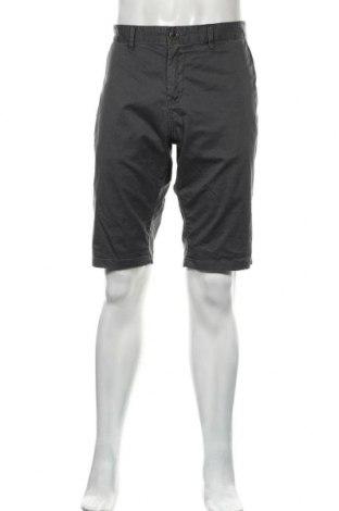 Pantaloni scurți de bărbați Tom Tailor, Mărime L, Culoare Gri, 98% bumbac, 2% elastan, Preț 118,29 Lei