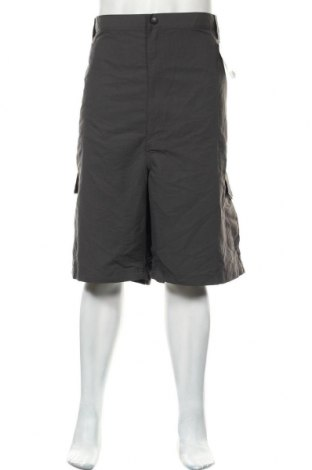 Мъжки къс панталон Wrangler, Размер XXL, Цвят Сив, Полиамид, Цена 16,38лв.