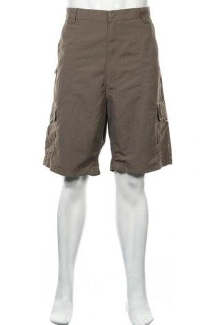 Мъжки къс панталон Wrangler, Размер XL, Цвят Кафяв, Полиамид, Цена 30,24лв.