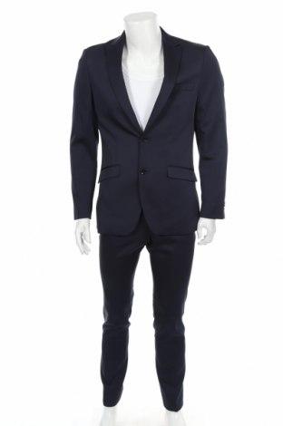 Pánský oblek  Bruno Banani, Velikost S, Barva Modrá, 84% polyester, 14% viskóza, 2% elastan, Cena  1014,00Kč