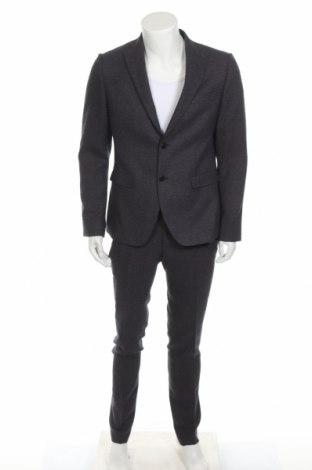 Ανδρικό κοστούμι Conbipel, Μέγεθος L, Χρώμα Μπλέ, 80% πολυεστέρας, 19% βισκόζη, 1% ελαστάνη, Τιμή 107,86€