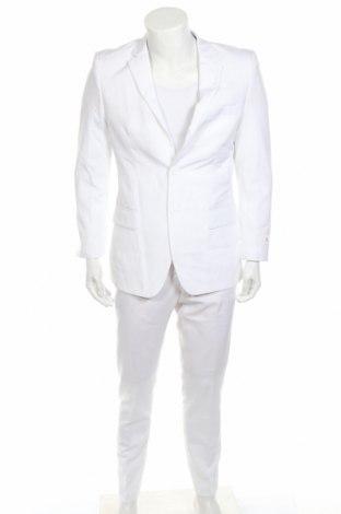 Ανδρικό κοστούμι Oppo Suits, Μέγεθος M, Χρώμα Λευκό, Πολυεστέρας, Τιμή 65,33€