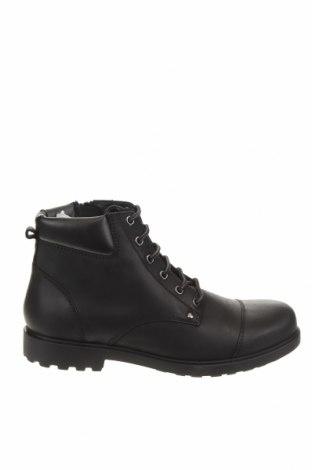 Мъжки обувки Geox, Размер 42, Цвят Черен, Естествена кожа, Цена 269,00лв.