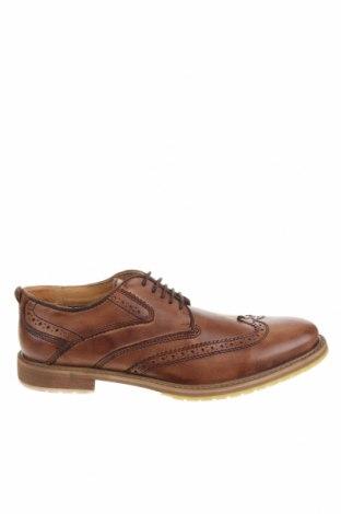 Мъжки обувки Steve Madden, Размер 41, Цвят Кафяв, Естествена кожа, Цена 139,50лв.