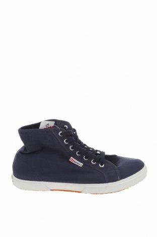 Мъжки обувки Superga, Размер 44, Цвят Син, Текстил, Цена 55,59лв.