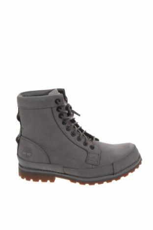 Мъжки обувки Timberland, Размер 40, Цвят Сив, Естествена кожа, Цена 289,00лв.