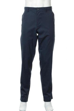Мъжки панталон Boss, Размер XL, Цвят Син, Полиестер, Цена 157,92лв.