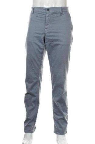 Ανδρικό παντελόνι Boss, Μέγεθος L, Χρώμα Μπλέ, 97% βαμβάκι, 3% ελαστάνη, Τιμή 39,01€