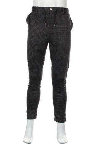Мъжки панталон Brave Soul, Размер L, Цвят Сив, 66% полиестер, 29% вискоза, 5% еластан, Цена 59,25лв.