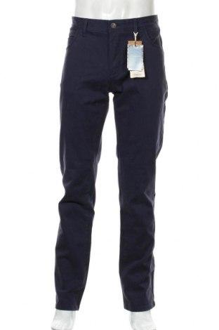 Pantaloni de bărbați Camicissima, Mărime L, Culoare Albastru, 98% bumbac, 2% elastan, Preț 94,44 Lei