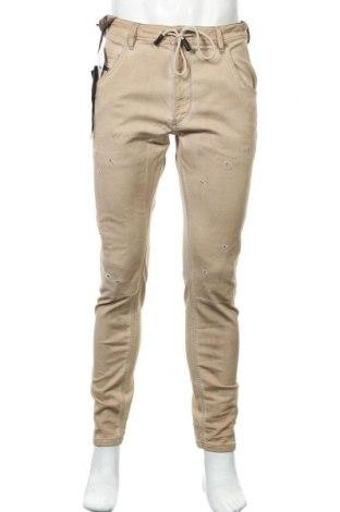 Ανδρικό παντελόνι Diesel, Μέγεθος M, Χρώμα Καφέ, 90% βαμβάκι, 8% πολυεστέρας, 2% ελαστάνη, Τιμή 49,16€