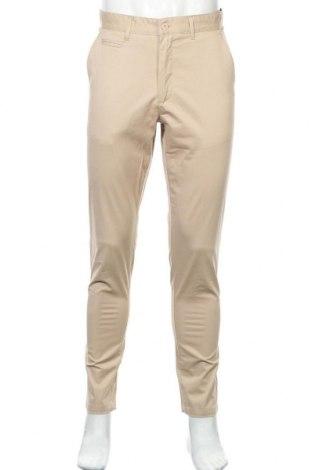 Мъжки панталон Lois, Размер M, Цвят Бежов, 96% памук, 4% еластан, Цена 31,15лв.