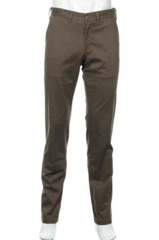 Мъжки панталон Lois, Размер M, Цвят Зелен, 98% памук, 2% еластан, Цена 27,59лв.