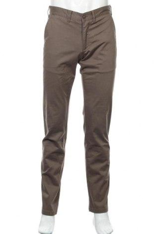 Мъжки панталон Lois, Размер M, Цвят Кафяв, 98% памук, 2% еластан, Цена 31,15лв.