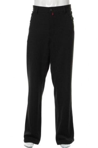 Мъжки панталон Pierre Cardin, Размер XL, Цвят Черен, 64% полиестер, 31% вискоза, 5% еластан, Цена 40,16лв.