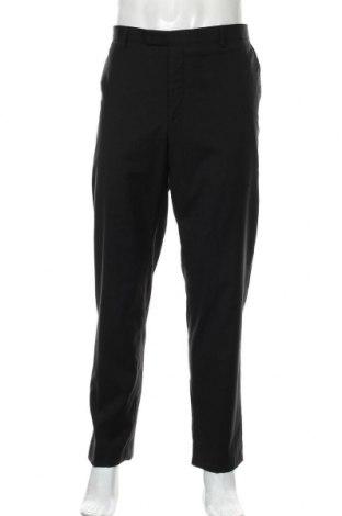 Pantaloni de bărbați Pierre Cardin, Mărime XL, Culoare Negru, Lână, Preț 55,43 Lei