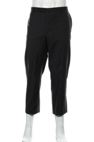 Pánské kalhoty  Pierre Cardin, Velikost XL, Barva Černá, Vlna, Cena  262,00Kč