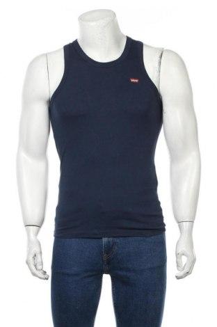Ανδρική αμάνικη μπλούζα Levi's, Μέγεθος S, Χρώμα Μπλέ, Βαμβάκι, Τιμή 20,88€