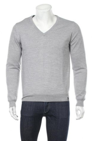 Мъжки пуловер Colmar, Размер L, Цвят Сив, 50% акрил, 50% вълна, Цена 201,75лв.