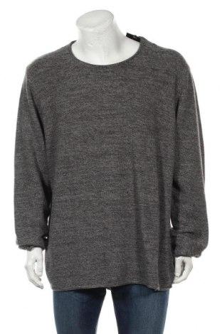 Мъжки пуловер Indicode, Размер 4XL, Цвят Сив, Памук, Цена 40,12лв.