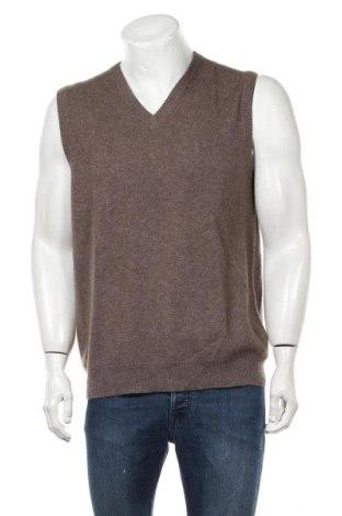 Ανδρικό πουλόβερ Just Cashmere, Μέγεθος L, Χρώμα Καφέ, Κασμίρι, Τιμή 22,41€