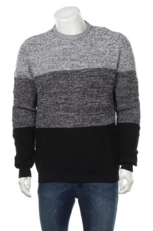 Мъжки пуловер Lft, Размер L, Цвят Многоцветен, Памук, Цена 28,52лв.