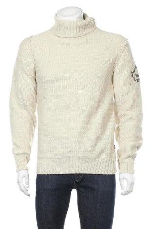 Ανδρικό πουλόβερ Marville, Μέγεθος L, Χρώμα  Μπέζ, 50%ακρυλικό, 35% μαλλί, 15% βισκόζη, Τιμή 17,66€