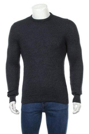 Pulover de bărbați New Look, Mărime S, Culoare Albastru, Acrilic, Preț 34,95 Lei
