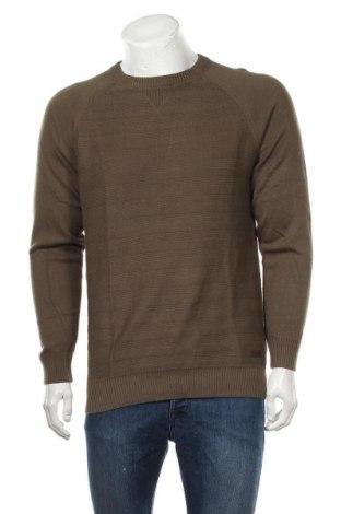 Ανδρικό πουλόβερ Pepe Jeans, Μέγεθος M, Χρώμα Πράσινο, Βαμβάκι, Τιμή 15,29€