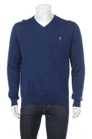 Мъжки пуловер Polo Club, Размер M, Цвят Син, Памук, Цена 51,75лв.