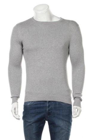 Ανδρικό πουλόβερ Pull&Bear, Μέγεθος XS, Χρώμα Γκρί, Βαμβάκι, Τιμή 7,58€