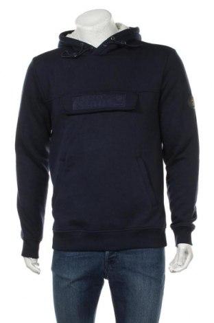 Мъжки суичър Teddy Smith, Размер L, Цвят Син, 54% памук, 46% полиестер, Цена 25,88лв.
