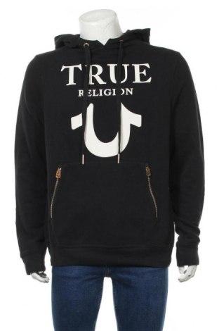 Hanorac de bărbați True Religion, Mărime XL, Culoare Negru, 84% bumbac, 16% poliester, Preț 274,34 Lei