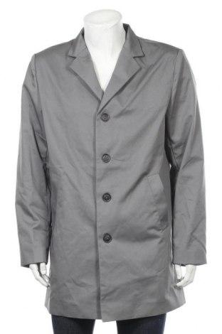 Palton de bărbați Newport Bay Sailing Club, Mărime L, Culoare Gri, 65% poliester, 35% bumbac, Preț 90,95 Lei