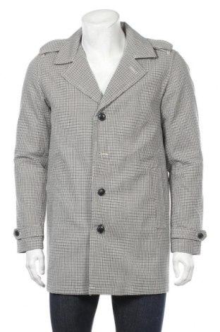 Palton de bărbați Premium By Jack & Jones, Mărime M, Culoare Multicolor, 65% poliester, 35% bumbac, Preț 117,83 Lei