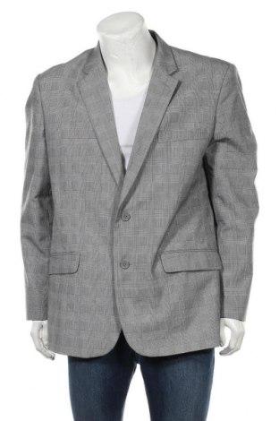 Мъжко сако Bpc Bonprix Collection, Размер XL, Цвят Сив, 65% полиестер, 35% вискоза, Цена 8,14лв.