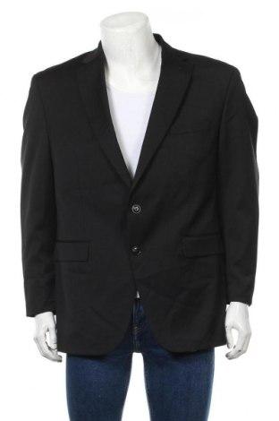 Мъжко сако Christian Berg, Размер XL, Цвят Черен, 53% полиестер, 44% вълна, 3% еластан, Цена 32,56лв.