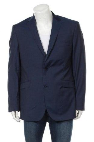 Ανδρικό σακάκι Cortefiel, Μέγεθος XL, Χρώμα Μπλέ, Μαλλί, Τιμή 104,00€