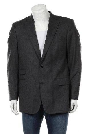 Мъжко сако Oscar Jacobson, Размер L, Цвят Сив, Вълна, Цена 12,60лв.