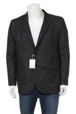 Ανδρικό σακάκι Pedro Del Hierro, Μέγεθος L, Χρώμα Μαύρο, Πολυεστέρας, Τιμή 101,22€