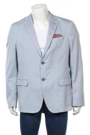 Мъжко сако Pierre Cardin, Размер L, Цвят Син, 71% памук, 27% полиестер, 2% еластан, Цена 39,42лв.