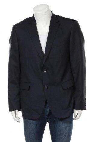 Мъжко сако Pierre Cardin, Размер L, Цвят Син, 50% вълна, 50% полиестер, Цена 41,22лв.