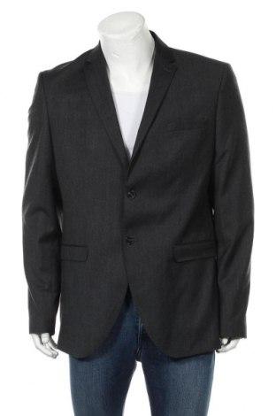 Ανδρικό σακάκι Selected Homme, Μέγεθος XL, Χρώμα Γκρί, 59% μαλλί, 39% πολυεστέρας, 2% ελαστάνη, Τιμή 16,56€
