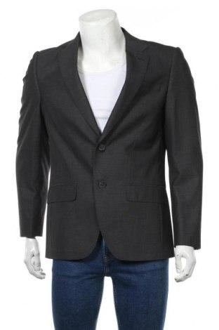 Ανδρικό σακάκι Tom Tailor, Μέγεθος M, Χρώμα Γκρί, 80% πολυεστέρας, 20% βισκόζη, Τιμή 63,59€