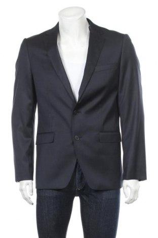 Ανδρικό σακάκι Tom Tailor, Μέγεθος L, Χρώμα Μπλέ, 80% πολυεστέρας, 20% βισκόζη, Τιμή 59,83€