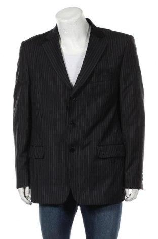 Мъжко сако Zara Man, Размер XL, Цвят Син, Цена 8,70лв.