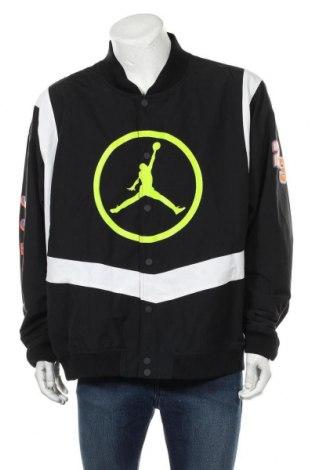 Мъжко спортно яке Air Jordan Nike, Размер 3XL, Цвят Черен, 58% памук, 42% полиамид, Цена 128,52лв.