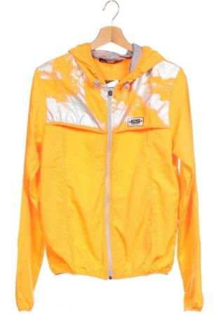 Мъжко спортно яке ES Collection, Размер XS, Цвят Оранжев, Полиестер, Цена 20,85лв.