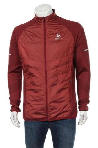 Мъжко спортно яке Odlo, Размер XL, Цвят Червен, 75% полиестер, 25% полиамид, Цена 74,25лв.